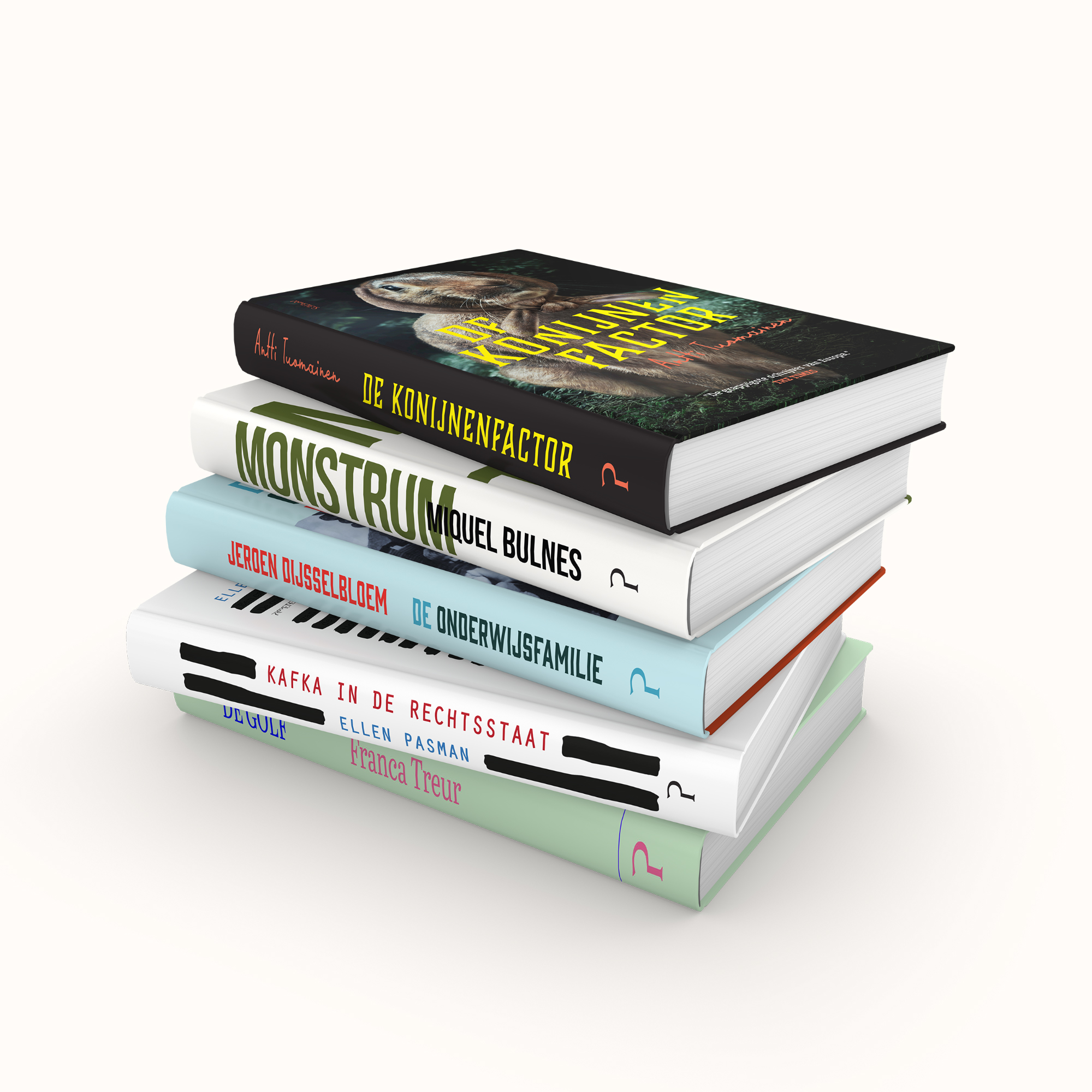 grafisch ontwerp - boekomslagen - illustrator