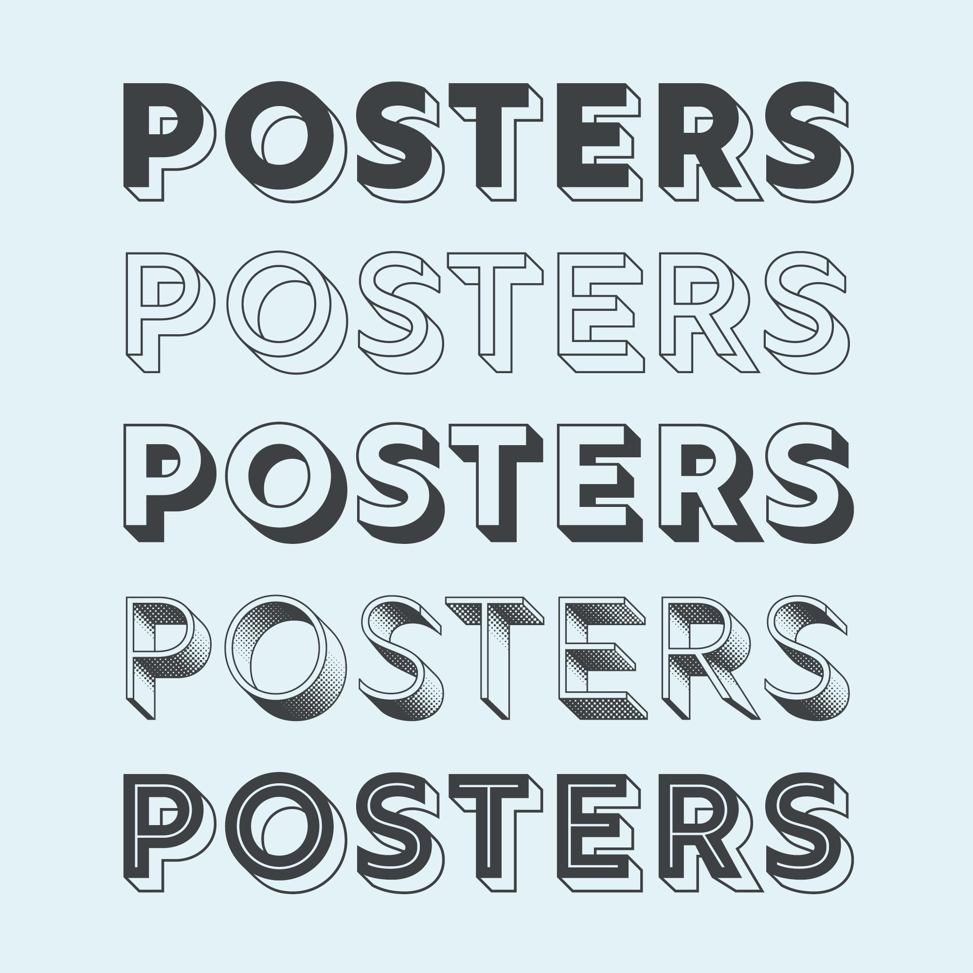 poster design - grafisch ontwerper